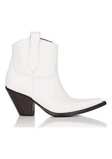 Maison Margiela Women's Mexas Leather Western Ankle Boots