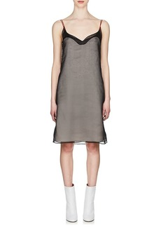 Maison Margiela Women's Organza-Overlay Silk Cami Dress