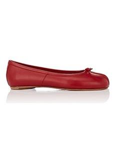 Maison Margiela Women's Tabi Leather Flats