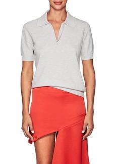 Maison Margiela Women's Wool Polo Shirt