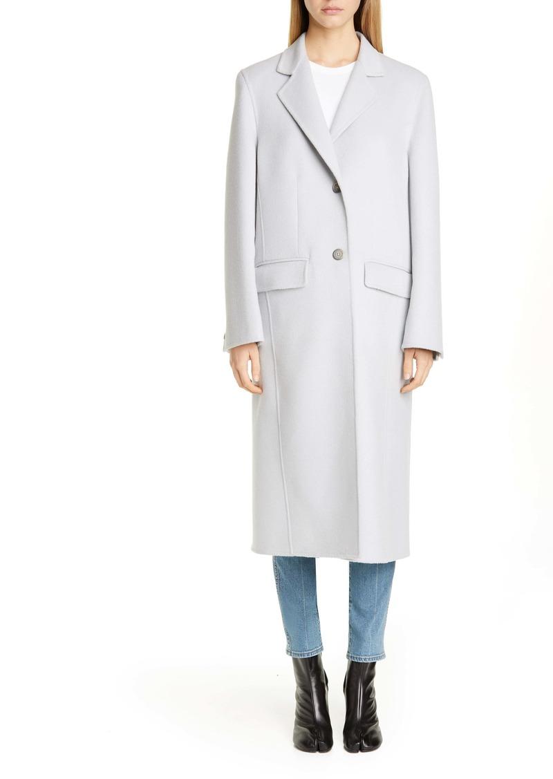 Maison Margiela Wool, Angora & Cashgora Coat