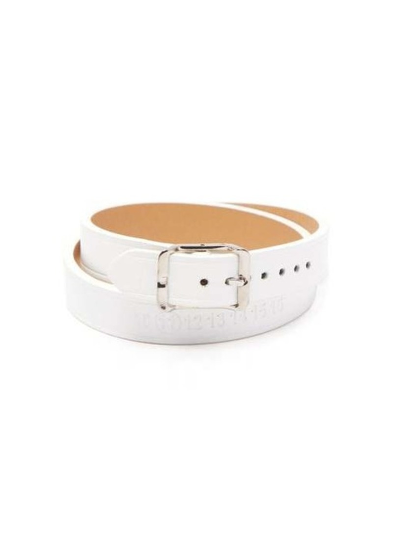 Maison Margiela Wrap-around leather bracelet