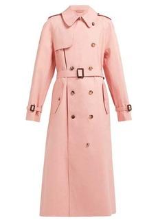 Maison Margiela X Mackintosh cotton-gabardine trench coat