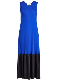 Maison Margiela Maxi Dress in Silk and Wool