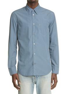Men's Maison Margiela Faux Pocket Button-Up Shirt