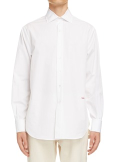 Men's Maison Margiela Silk Habutai Button-Up Shirt