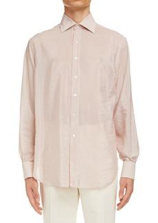 Men's Maison Margiela Stripe Button-Up Shirt
