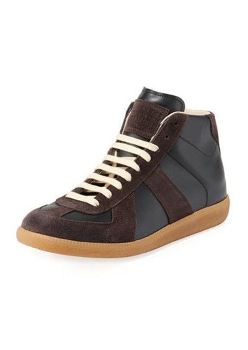 Maison Margiela Men's Replica Mid-Top Sneakers