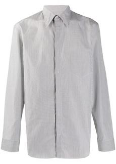 Maison Margiela micro-check shirt