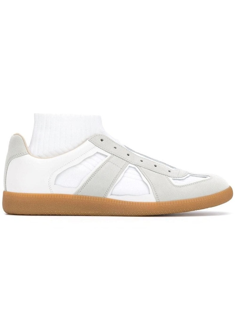 Maison Margiela mid-top Replica sock sneakers
