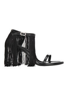 Maison Margiela Mm6 Fringed Sandals