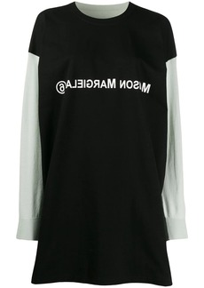 Maison Margiela MM6 logo sweatshirt dress