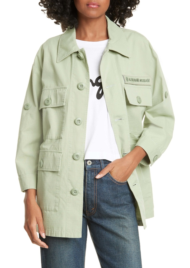 MM6 Maison Margiela Cotton Military Jacket