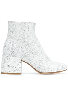Maison Margiela crackle effect ankle boots