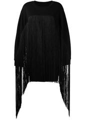 Maison Margiela fringed oversized sweater