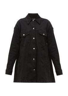 MM6 Maison Margiela Oversized cotton-blend twill jacket