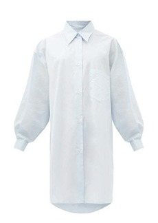 MM6 Maison Margiela Oversized cotton-poplin shirt dress