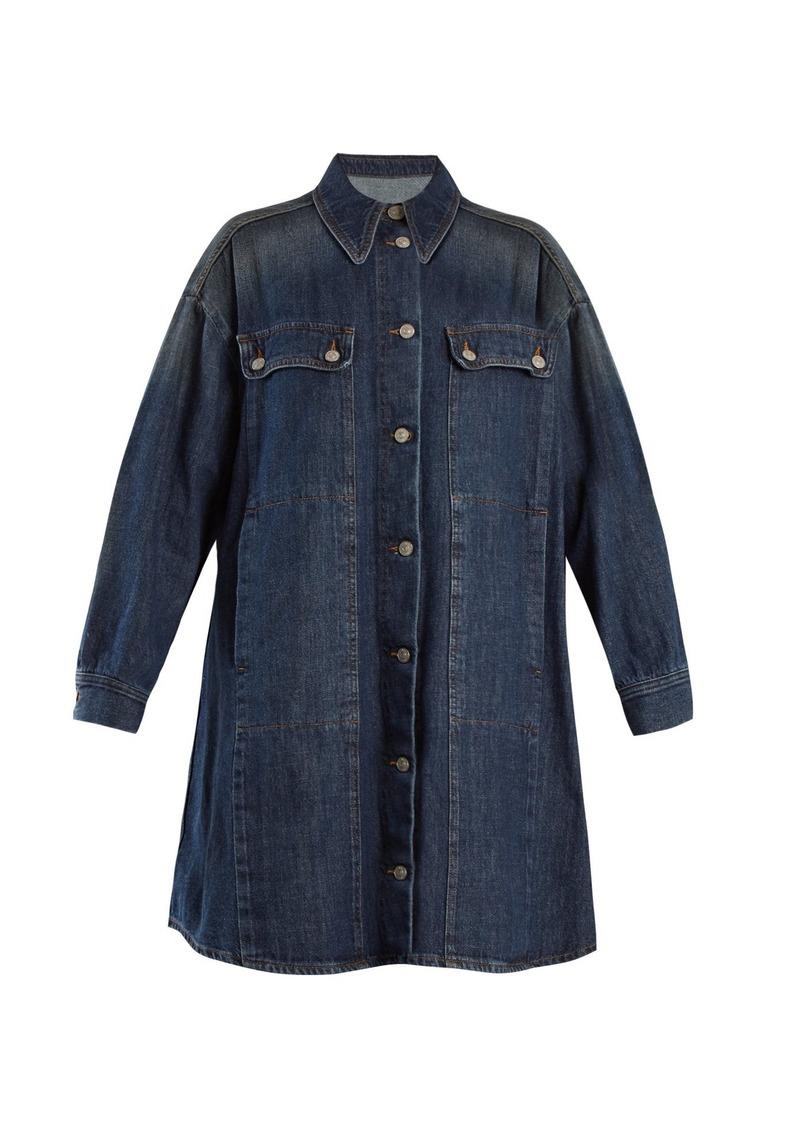 659d7898a78 Maison Margiela MM6 Maison Margiela Oversized denim jacket