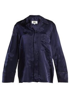 MM6 Maison Margiela Oversized jacquard pyjama-style shirt