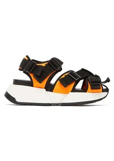 MM6 Maison Margiela Safety multi-strap platform sandals
