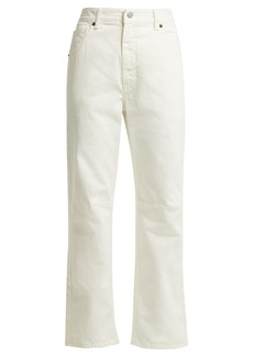 MM6 Maison Margiela Straight leg cropped jeans