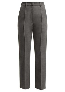 MM6 Maison Margiela Straight-leg twill trousers