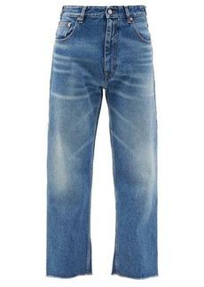MM6 Maison Margiela Washed high-rise boyfriend jeans