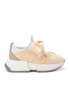 Mm6 Maison Margiela White Neoprene Sneaker