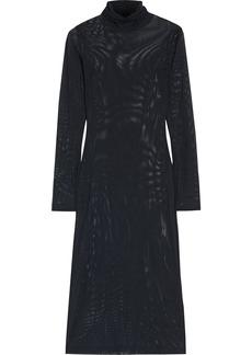 Mm6 Maison Margiela Woman Stretch-mesh Dress Black