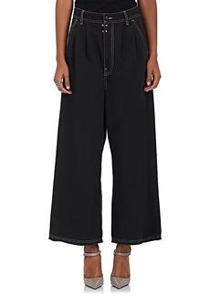 MM6 Maison Margiela Women's Cotton Piqué Pants