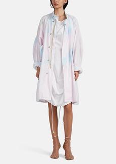 MM6 Maison Margiela Women's Tie-Dyed Cotton Oversized Field Jacket
