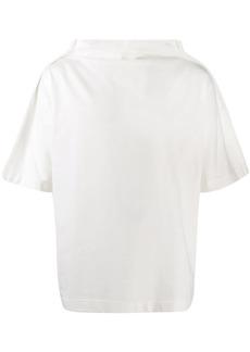 Maison Margiela mock neck oversized T-shirt