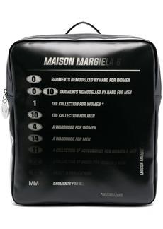 Maison Margiela Motorcross logo backpack
