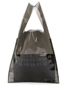 Maison Margiela number print tote bag