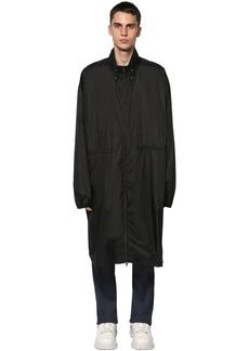 Maison Margiela Nylon Coat W/ Belt Bag