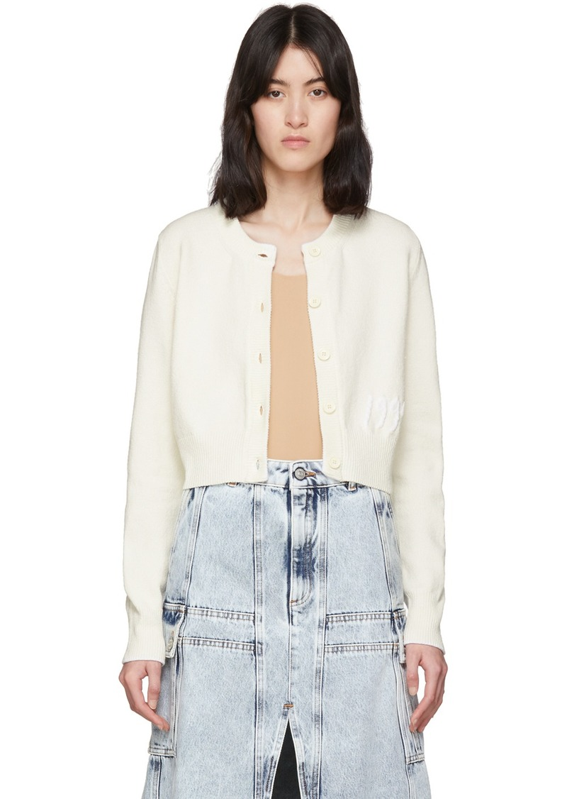Maison Margiela Off-White '1994' Cardigan