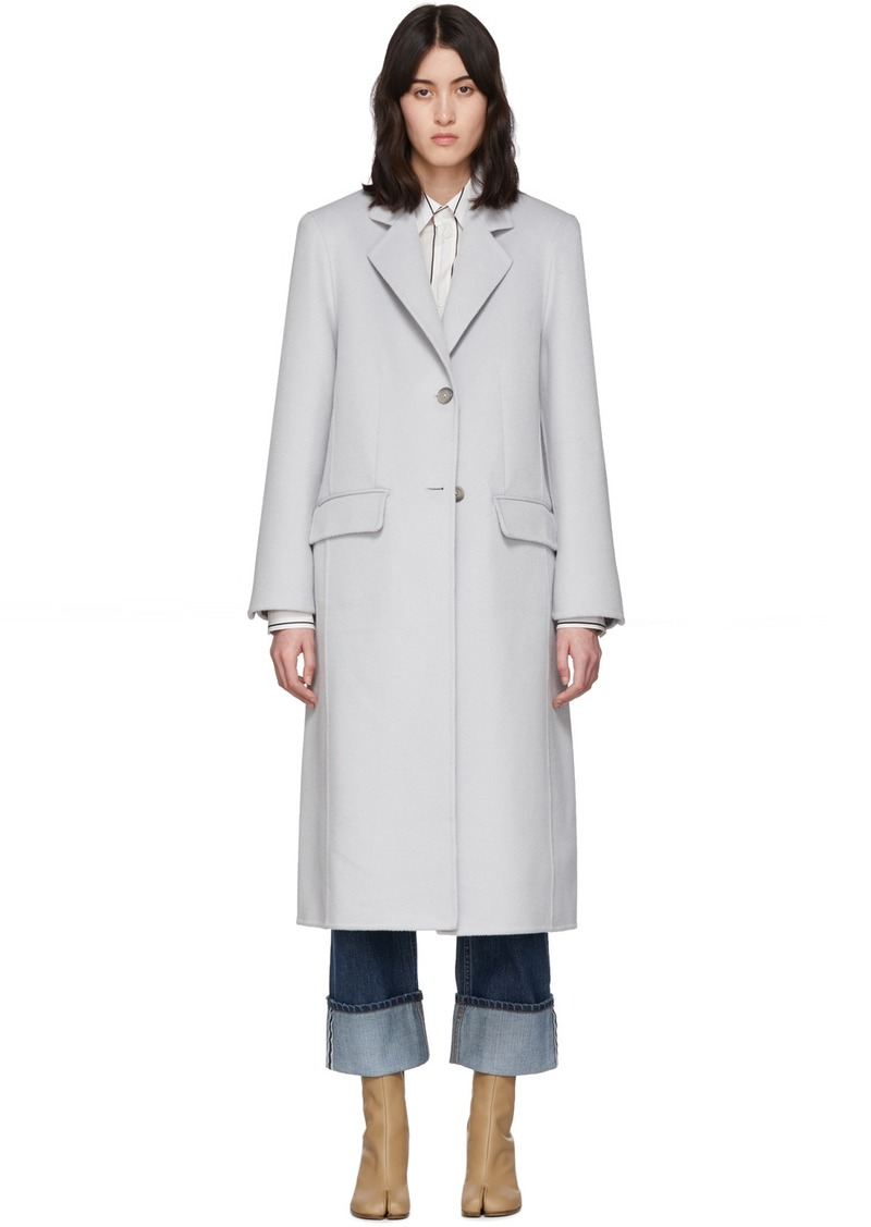 Maison Margiela Off-White Cashgora Coat