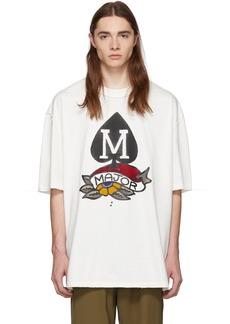 Maison Margiela Off-White 'M' Spade Logo T-Shirt