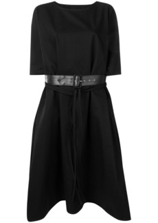 Maison Margiela oversized belted dress