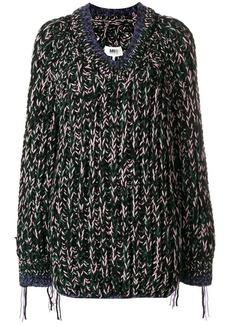 Maison Margiela oversized chunky-knit jumper