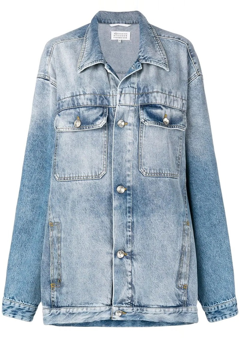 Maison Margiela oversized denim jacket