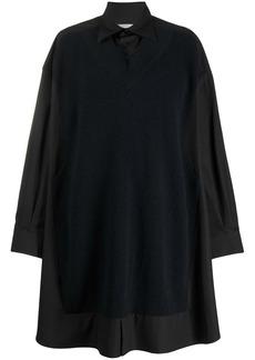 Maison Margiela oversized jumper shirt dress