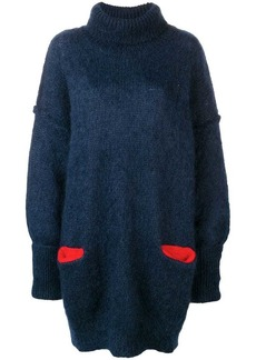 Maison Margiela oversized knitted dress