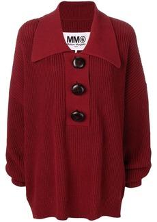 Maison Margiela oversized knitted jumper