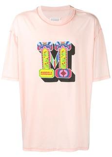 Maison Margiela oversized logo print T-shirt