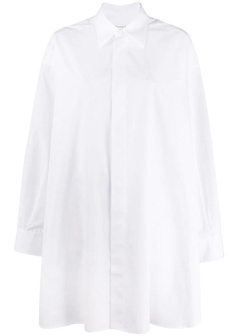 Maison Margiela oversized longline shirt