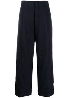 Maison Margiela oversized pinstriped trousers