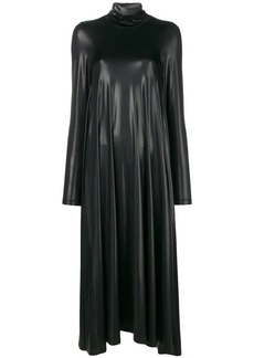 Maison Margiela oversized shiny dress
