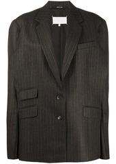 Maison Margiela oversized stripe jacket