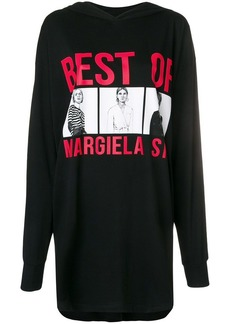Maison Margiela oversized sweatshirt dress